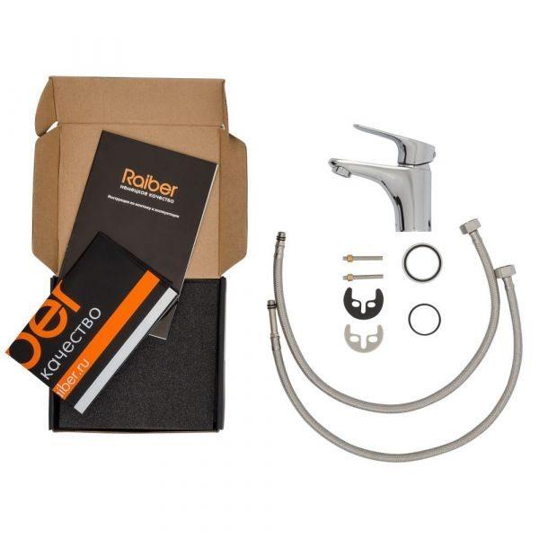 Смеситель для раковины однорычажный Raiber Primo/R50 R5001