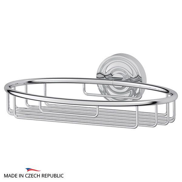 Полочка-решетка 22 cm (хром) (ELLUX) ELE 013 для ванной