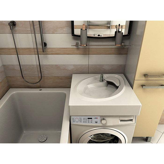 Ameli Раковина над стиральной машиной 60