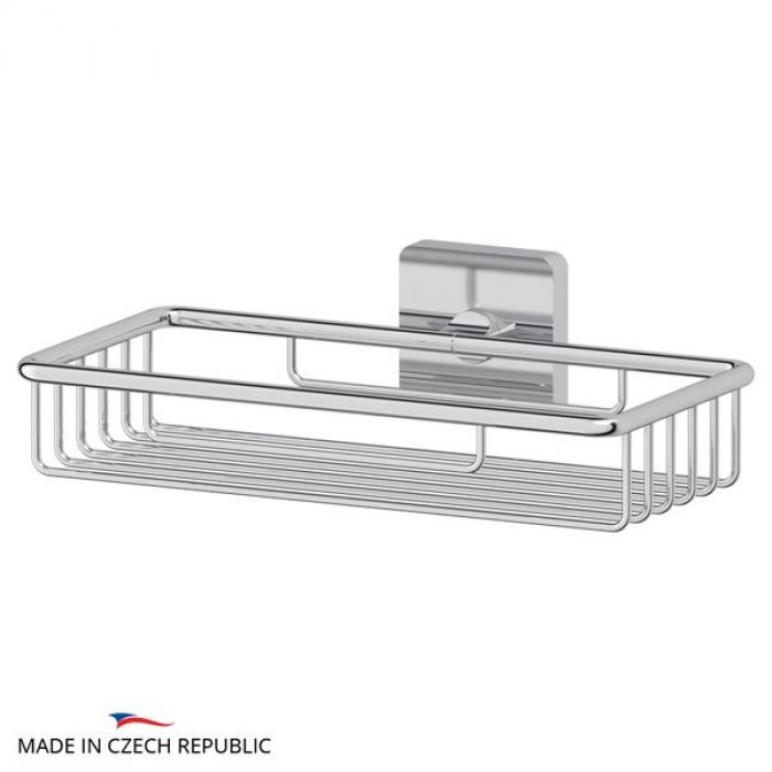 Полочка-решетка 22 cm (хром) (ELLUX) AVA 013 для ванной