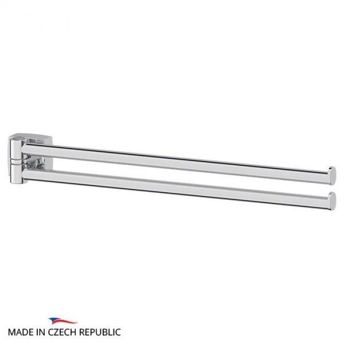 Держатель полотенец поворотный двойной 37 cm (хром) (FBS) ESP 044 для ванной