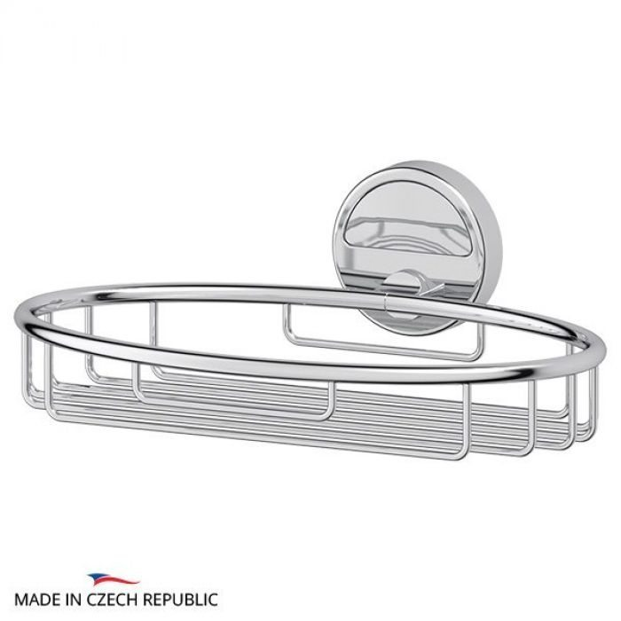 Полочка-решетка 22 cm (хром) (FBS) LUX 048 для ванной