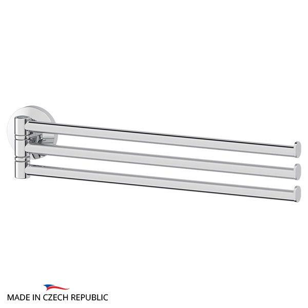 Держатель полотенец поворотный тройной 37 cm (хром) (FBS) STA 045 для ванной