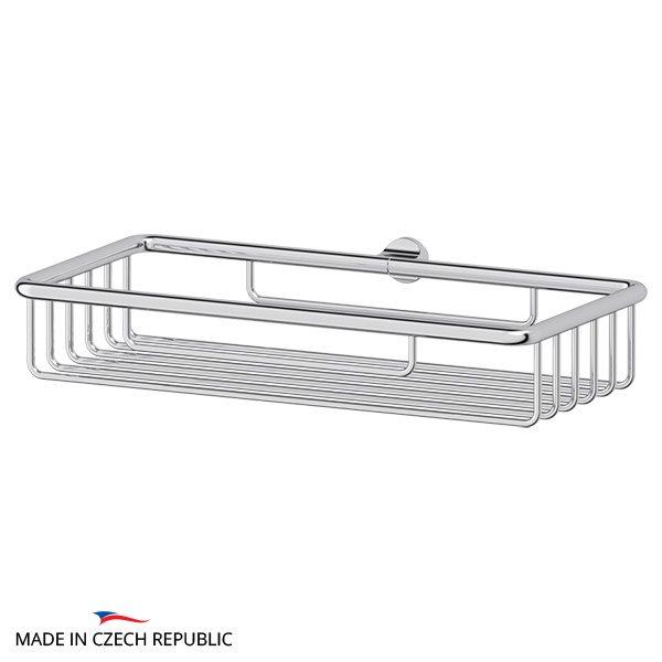Полочка-решетка 22 cm - компонент для штанги (хром) (FBS) UNI 041 для ванной