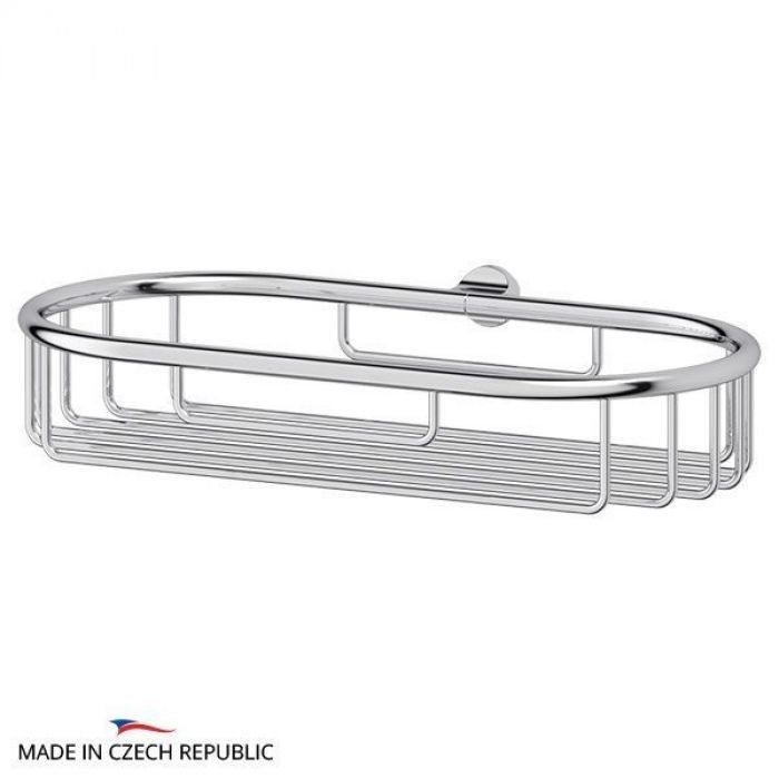Полочка-решетка 22 cm - компонент для штанги (хром) (FBS) UNI 042 для ванной