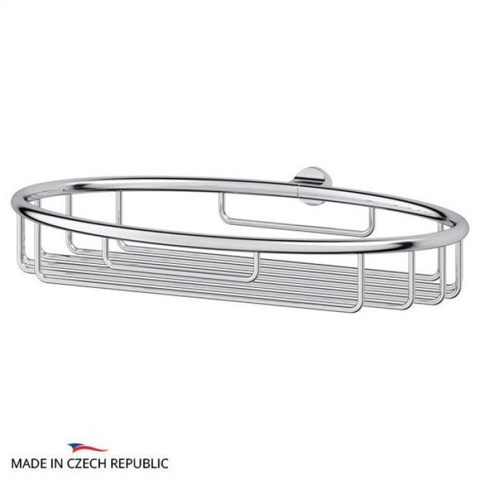 Полочка-решетка 22 cm - компонент для штанги (хром) (FBS) UNI 051 для ванной