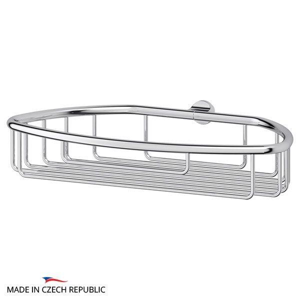 Полочка-решетка 22 cm - компонент для штанги (хром) (FBS) UNI 055 для ванной