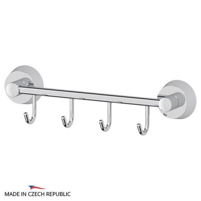 Штанга с 4-мя крючками 25 cm (хром) (FBS) VIZ 025 для ванной