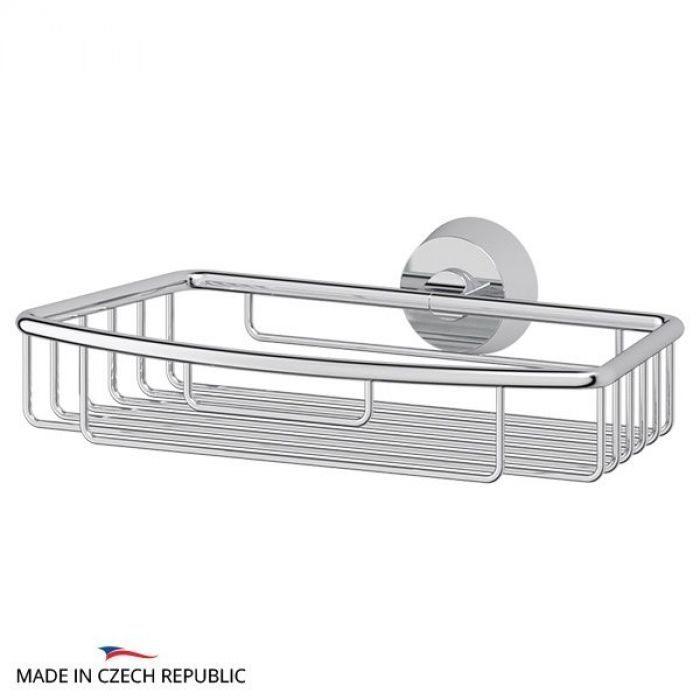 Полочка-решетка 22 cm (хром) (FBS) VIZ 048 для ванной