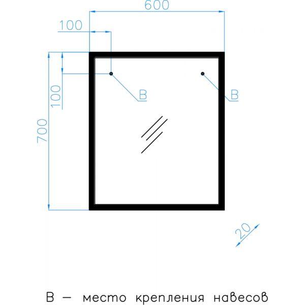 Мебель для ванной Style Line Лофт 60/80