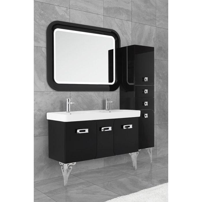 Зеркало для ванной комнаты Vod-ok Арнелла -120 черный