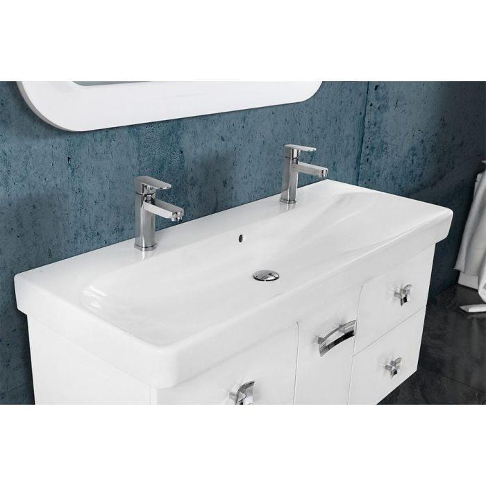 Тумба для ванной комнаты Vod-ok Астрид -120 красный