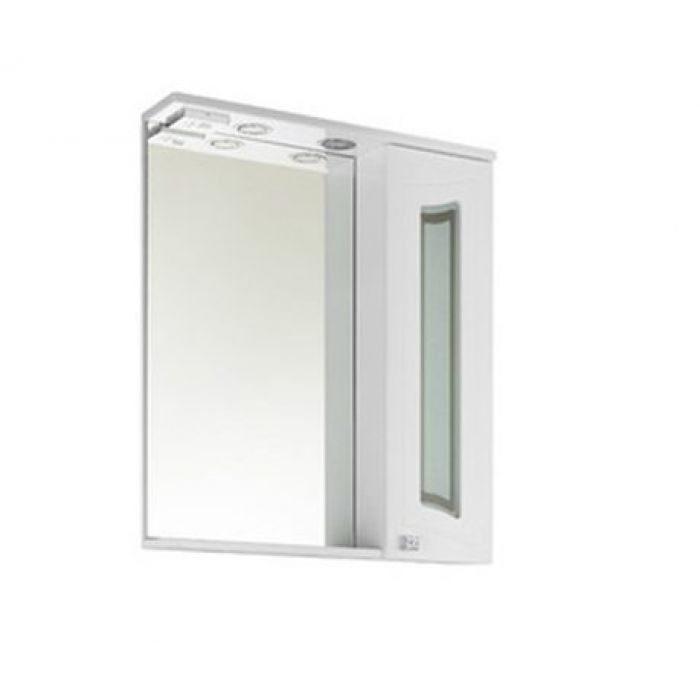 Зеркало со шкафом Vod-ok Адам С 75 со стеклом