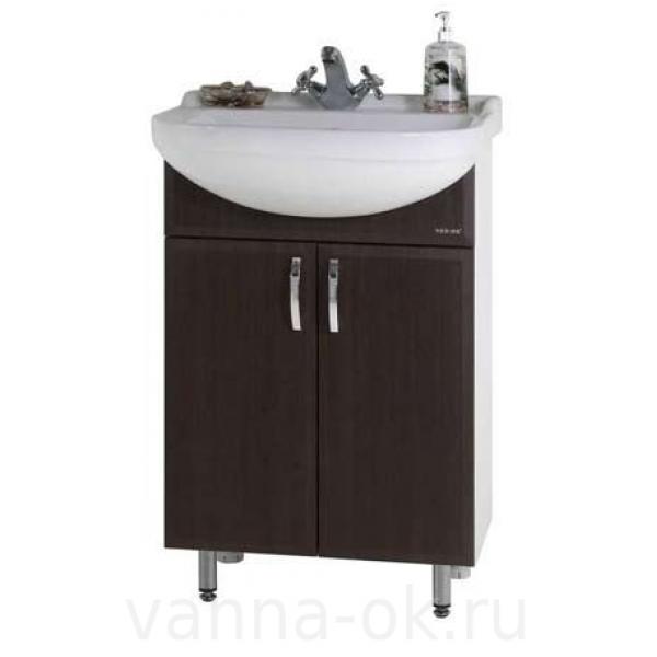 Комплект мебели для ванной Классик 55 Венге