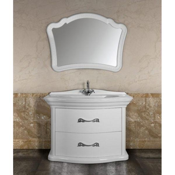 Комплект мебели для ванной Луиджи 120\Я (цвет белый)