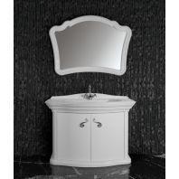 Комплект мебели для ванной Луиджи 120\2 дверцы (цвет белый)