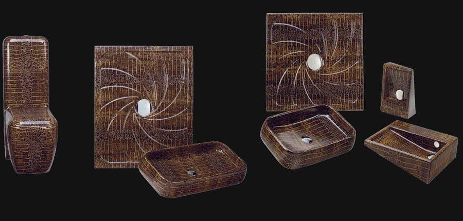 Дизайнерская сантехника с декором